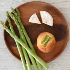 アスパラガス&カマンベールチーズマフィン