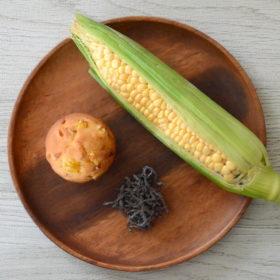 トウモロコシ&塩こんぶマフィン