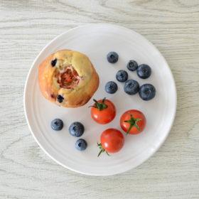 ミニトマト&ブルーベリーマフィン