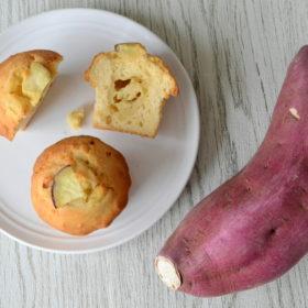 さつま芋&カスタードマフィン